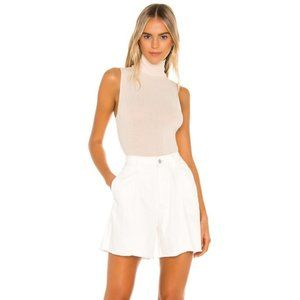 Free People Amelie A Line Shorts Size 30 White
